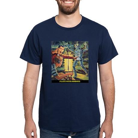 Plays with Robots Dark T-Shirt