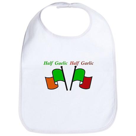 Half Gaelic Half Garlic Bib