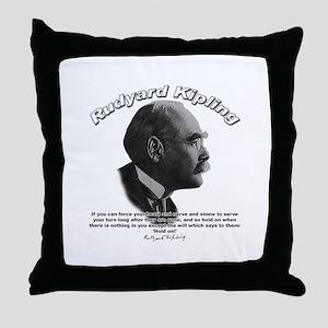 Rudyard Kipling 01 Throw Pillow