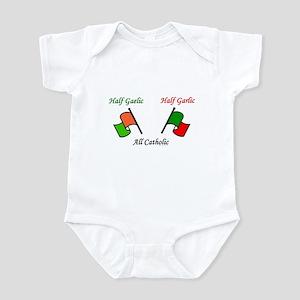Half N' Half - Catholic Infant Bodysuit