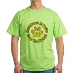 Pit Bull Green T-Shirt