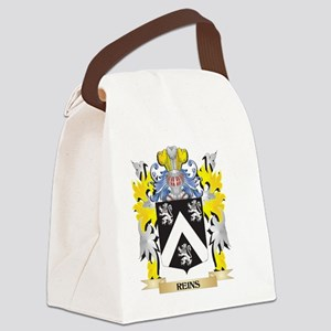 Reins Family Crest - Coat of Arms Canvas Lunch Bag