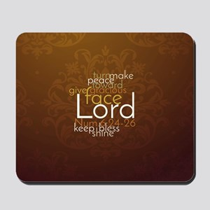 Christian 181 Priestly Blessing Mousepad