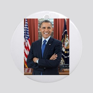 Official Presidential Portrait Round Ornament