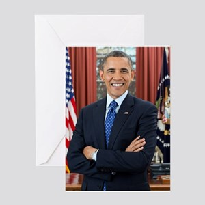 Official Presidential Portrait Greeting Card