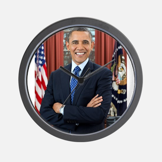 Official Presidential Portrait Wall Clock