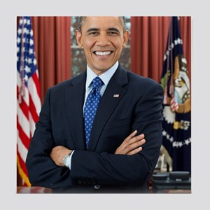 Official Presidential Portrait Tile Coaster