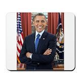 Obama official portrait Classic Mousepad