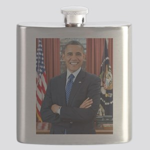 Official Presidential Portrait Flask