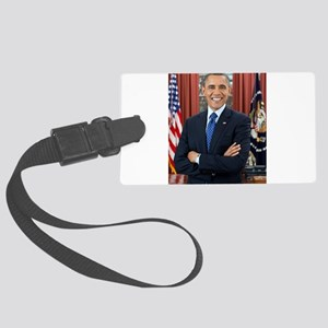 Official Presidential Portrait Large Luggage Tag