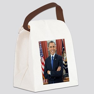 Official Presidential Portrait Canvas Lunch Bag