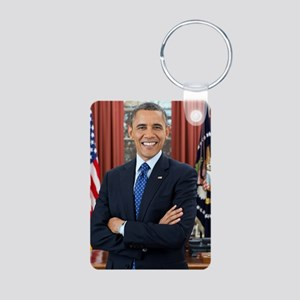 Official Presidential Port Aluminum Photo Keychain
