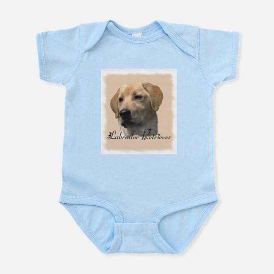 Yellow Labrador Retriever Infant Creeper