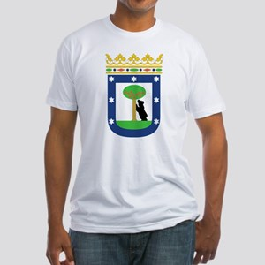 Madrid Coat Of Arms Fitted T-Shirt
