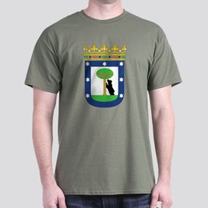 Madrid Coat Of Arms Dark T-Shirt