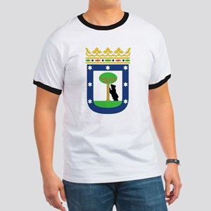 Madrid Coat Of Arms Ringer T