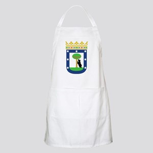 Madrid Coat Of Arms Apron