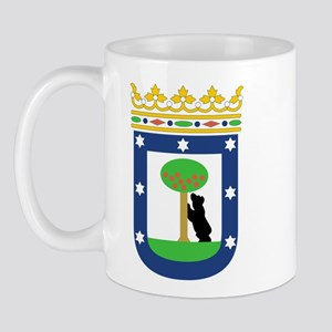 Madrid Coat Of Arms Mug
