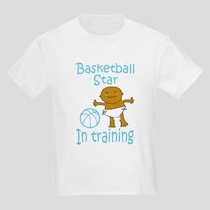 Basketball Star in Training Ethan Kids T-Shirt