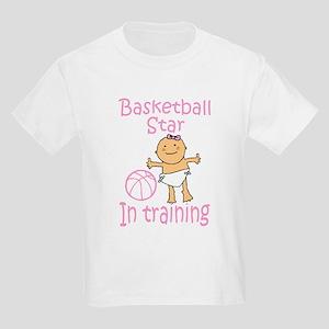 Basketball Star in Training Madison Kids T-Shirt