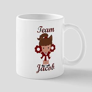 Team Jacob Cheerleader Mug