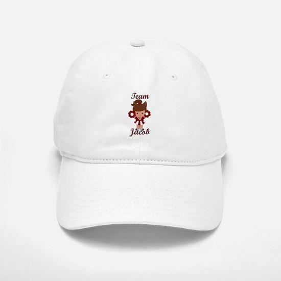 Team Jacob Cheerleader Baseball Baseball Cap
