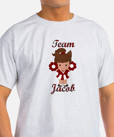 Team Jacob Cheerleader T-Shirt