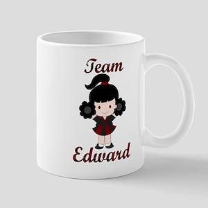 Team Edward Cheerleader Mug