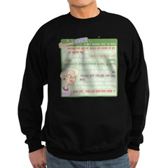 A Gorgeous Grandma Is... Sweatshirt (dark)