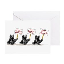 Dust Bunnies Greeting Cards (Pk of 20)
