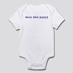 Real Men Dance Infant Bodysuit