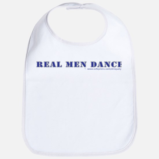 Real Men Dance Bib