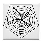 Galactic Migration Institute Emblem Tile Coaster
