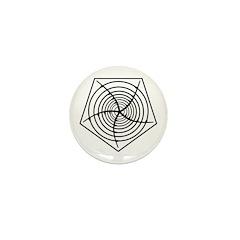 Galactic Migration Institute Emblem Mini Button (1