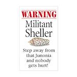 Militant Sheller Rectangle Sticker
