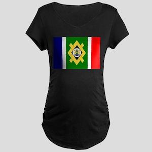 Johannesburg Flag Maternity Dark T-Shirt