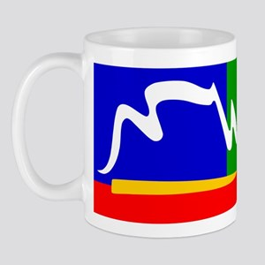 South Africa Cape Town Flag Mug