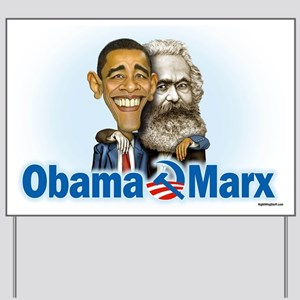 Obama Marx (re-release) Yard Sign