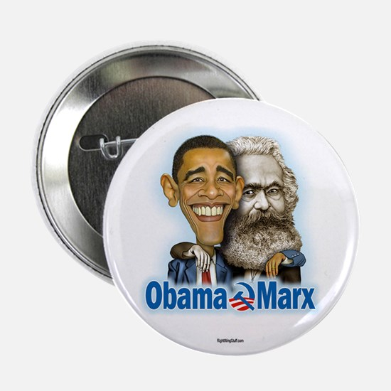 "Obama Marx (re-release) 2.25"" Button (10 pack)"