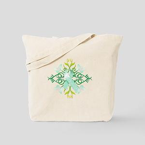 Teal Survivor Tote Bag