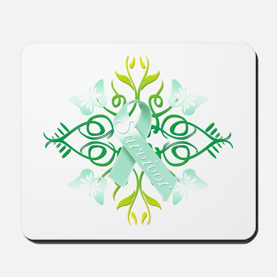 Teal Survivor Mousepad
