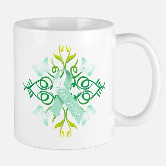 Teal Survivor Mug