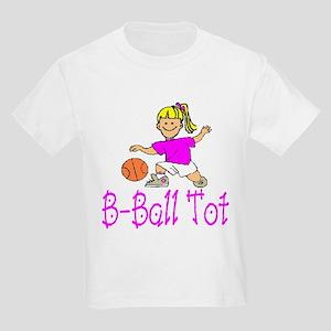 Basketball Tot Isabella Kids T-Shirt
