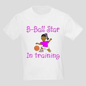 Basketball Star in Training Emma Kids T-Shirt