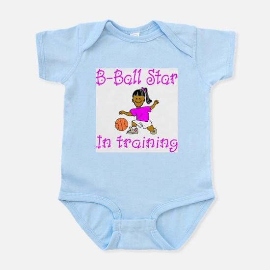 Basketball Star in Training Emma Infant Creeper