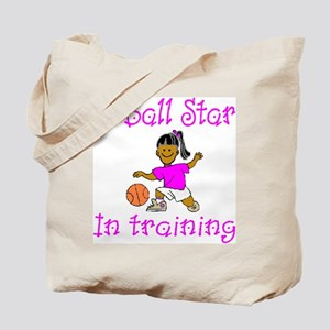 Basketball Star in Training Emma Tote Bag