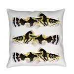 Piebald madtom catfish Everyday Pillow