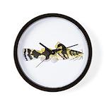 Piebald madtom catfish Wall Clock
