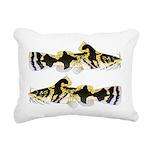 Piebald madtom catfish Rectangular Canvas Pillow