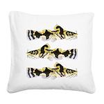Piebald madtom catfish Square Canvas Pillow